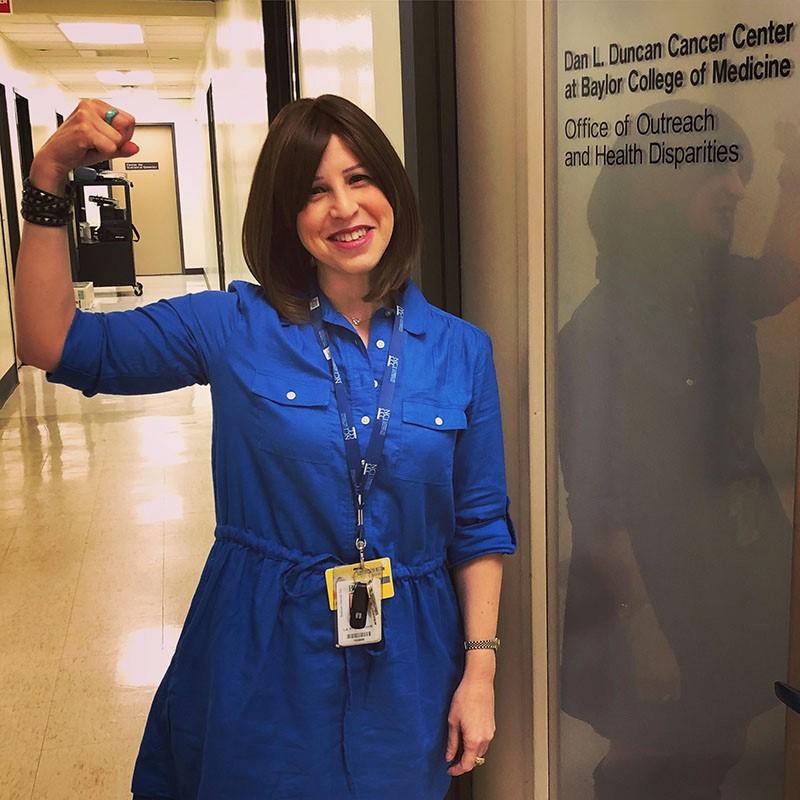 Going Blue Colorectal Cancer Survivor Advocates For Awareness The Buzz Magazines