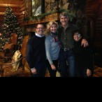 Mike and Susan Plank invited Joni and Michael to their home for Susan's signature cranberry pomegranate martini. Their home is the perfect combination of gorgeous yet cozy and warm. Mike and Susan are passionate about sharing their love of Telluride with