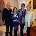 Lou Waters with granddaughter Madison Outhier, Laurel Waters, Wanda Waters