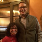 Buzz Editor Joni Hoffman and VP of Sales Jay Janecek.