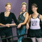 Jenny Marshall, Carol Howenstine and Beth Muecke