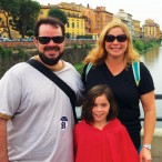 Eduardo Matta, Gisselle Matta and daughter Elena