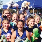 Pin Oak Middle School girls lacrosse teams