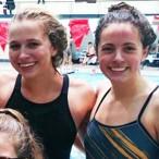 St. Agnes Academy swim team