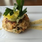 Crab cake from Current