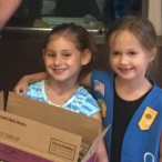 Girl Scouts thanked Bellaire Police