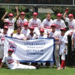 The 12U Bellaire District team