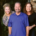 Lisa Riddle, Larry Hoffman and Lori Wilkins
