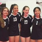Texas Elite U15 volleyball players