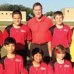 The 15U Cougar soccer team