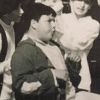 Jon Bass in middle school production of Oliver