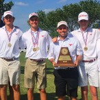 Memorial Mustangs boys golf team