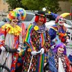 Clowns group shot
