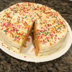 Funfetti Cake made by Danielle Miller