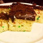 Funfetti Chocolate Cake made by Aaron Aboulafia
