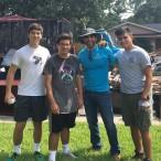 Tommy Lykos, Rafael Trevino, Sergio Garza, Alejandro Garza