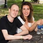 Jose Ogora and Ana Alvarez