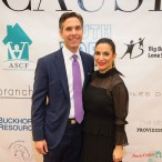 Candace Thomas (pictured, with husband Brian), co-creator of A Couture Cause and blogger (Luxe...With Kids)