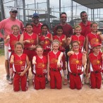 10U White Heat softball team