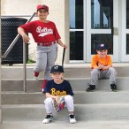 Horn Elementary baseball players