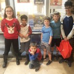 Anna Gregory, Ayden Syed, Benjamin Gregory, George Gips, James Gips