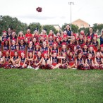 Southwest Football League cheerleaders