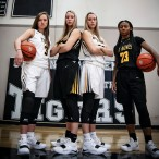Emily Nelson, Katie Dickerson, Kelly Dickerson and Madison Lucas