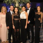 Jennifer and Scott Allison, Stephanie and Ryan Fleck, Caroline and Kevin Walter, and Megan and Brian Cushing