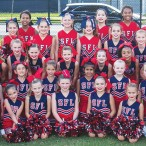 Southwest Football League (SFL) cheerleaders