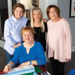 Diane Kaminsky, Fredell Belasco, Susan Magaziner and Linda Freedman Block