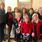 Memorial Drive Garden Club Holiday Gals food hostesses