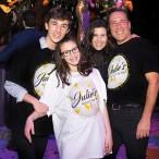 Julie, Michael, Morgan and Garrett Kaplan