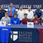 Second Baptist School signing day