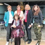 Janet Meador Pate, Sue Bennett, Dorothy McLemore, Jelyn Pizzitola, Mary Jane Pizzitola