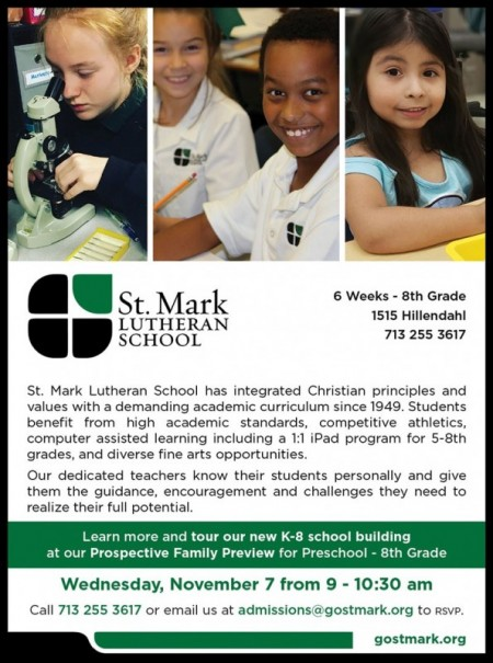 St. Mark Lutheran Church and School Open House