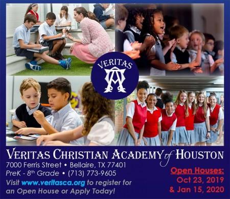 Veritas Christian Academy of Houston Open House