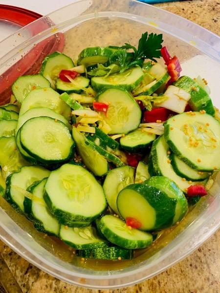 Cider Vinegar Pickles