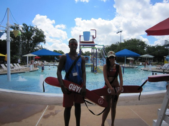 Amir Henry and Anna Walker both dislike having to clean the pool; however, they both enjoy lifeguarding.