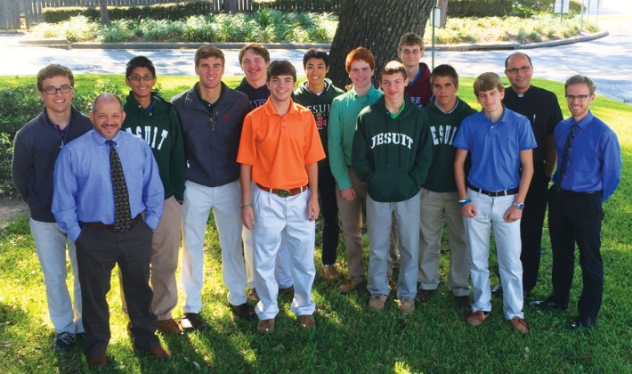 Strake Jesuit students