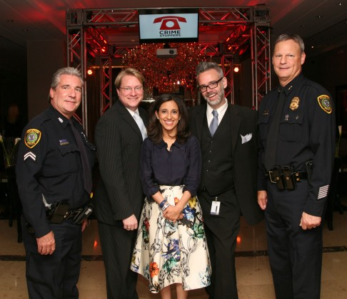 Officer James Sobota, Matthew Burrus-Pearce, Rania Mankarious, Michael Burrus-Pearce, Officer Mark Eisenman.