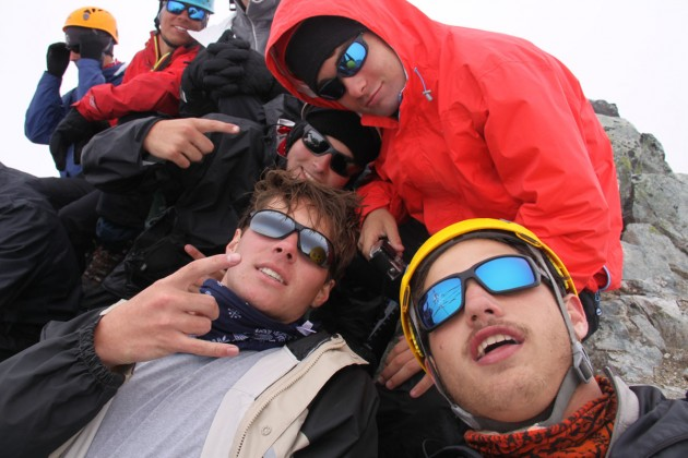 Selfie on the summit