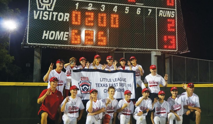 Bellaire Little League's 12U baseball team