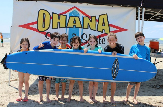 Ohana Surf Camp in Galveston