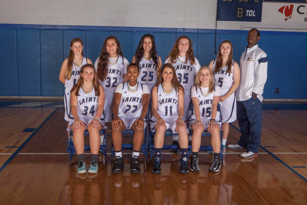 St. Thomas' Episcopal's Women's Basketball Team
