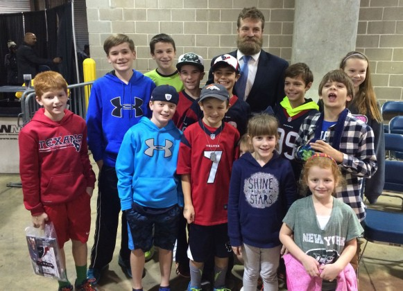 Valerie St kids with Ryan Fitzpatrick