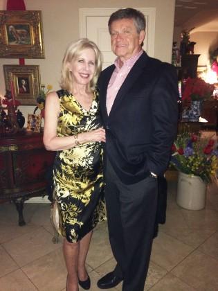 Beth Benson and Jim Slaughter