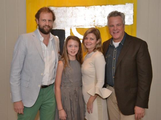Salek family and Robert Earl Keen