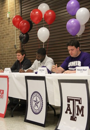 National Signing Day at Stratford High School