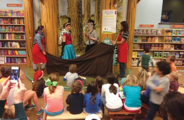 West University Elementary book fair