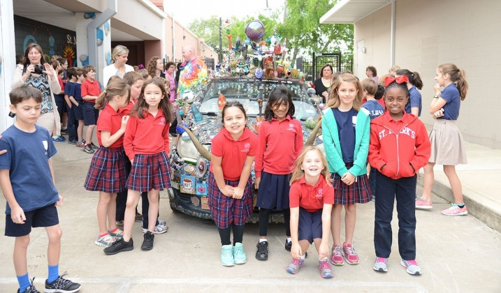 St. Mark's Episcopal School second graders